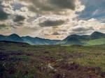 The Black Mount seen from Rannoch Moor
