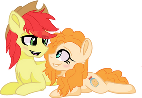 Just you and me, Butter Cup ~ by SimbyFIM