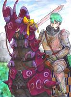:GJK: Galactic Knight by Clytemnon