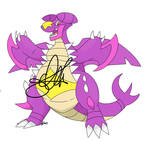 :Adopt: Dragonite/Shiny Garchomp fusion