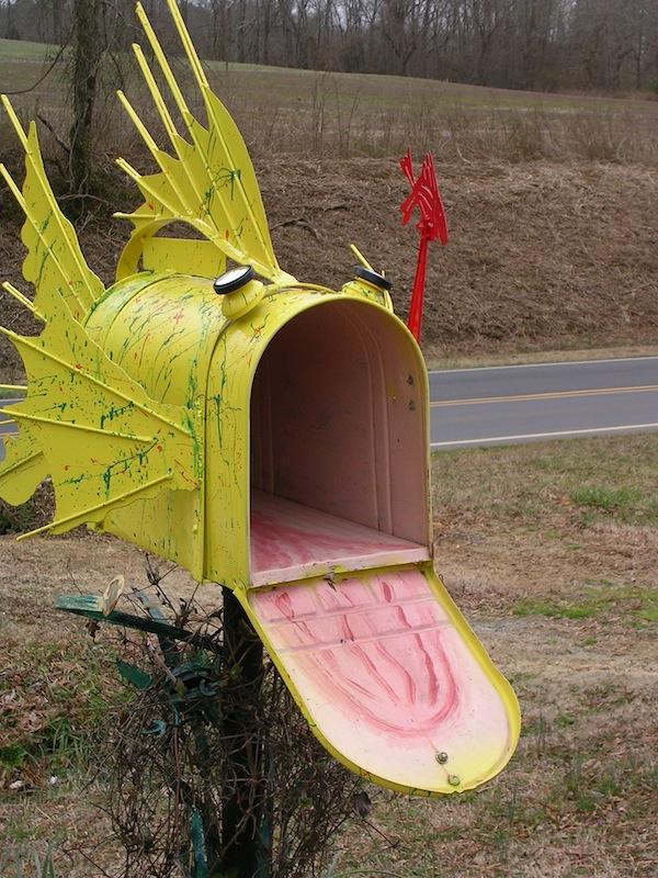 Big Fish Mailbox by sclptrjoel