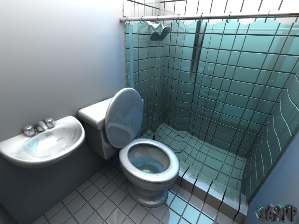 Even the bathroom is shiny by jaxmp on deviantart - Make bathroom shine ...