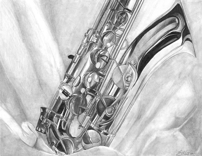 saxophone still life by rhou