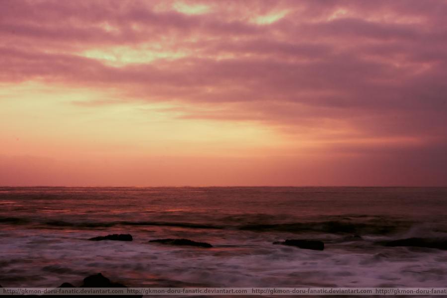 The land of crashing waves by GKmon-DORU-fanatic