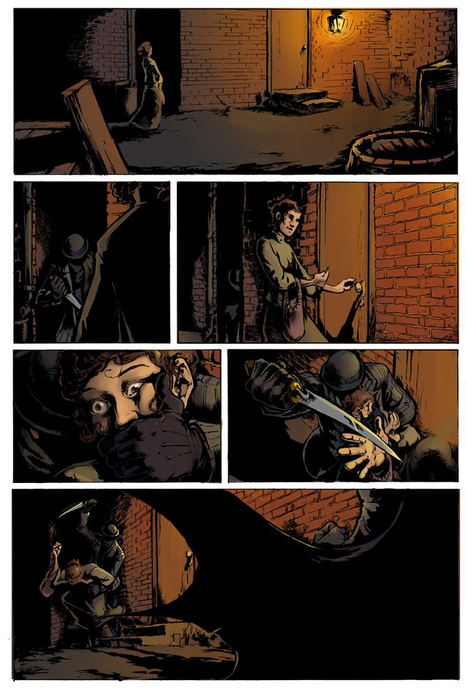 Gotham by Gaslight by Tanken