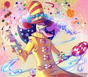 Perospero - One Piece by Daisy-Flauriossa