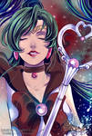 Sailor Pluto by Daisy-Flauriossa