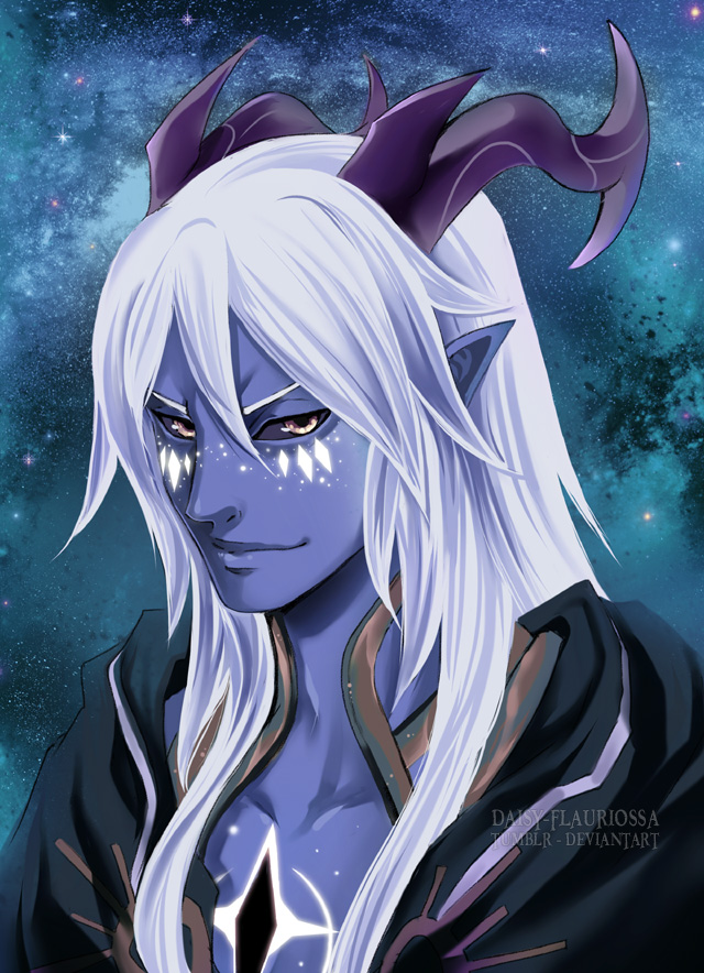 Aaravos - The Dragon prince by Daisy-Flauriossa