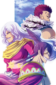 Sweet commanders - One Piece