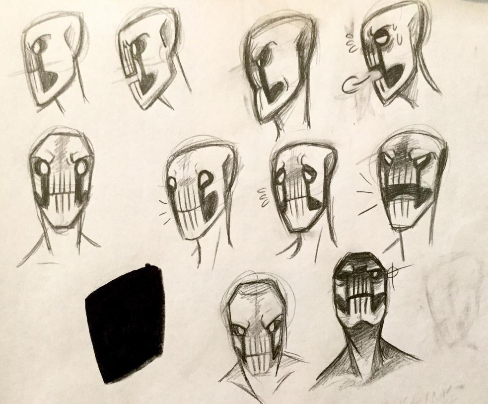 Dedan Lip-Sync sketches by Masked-Observer