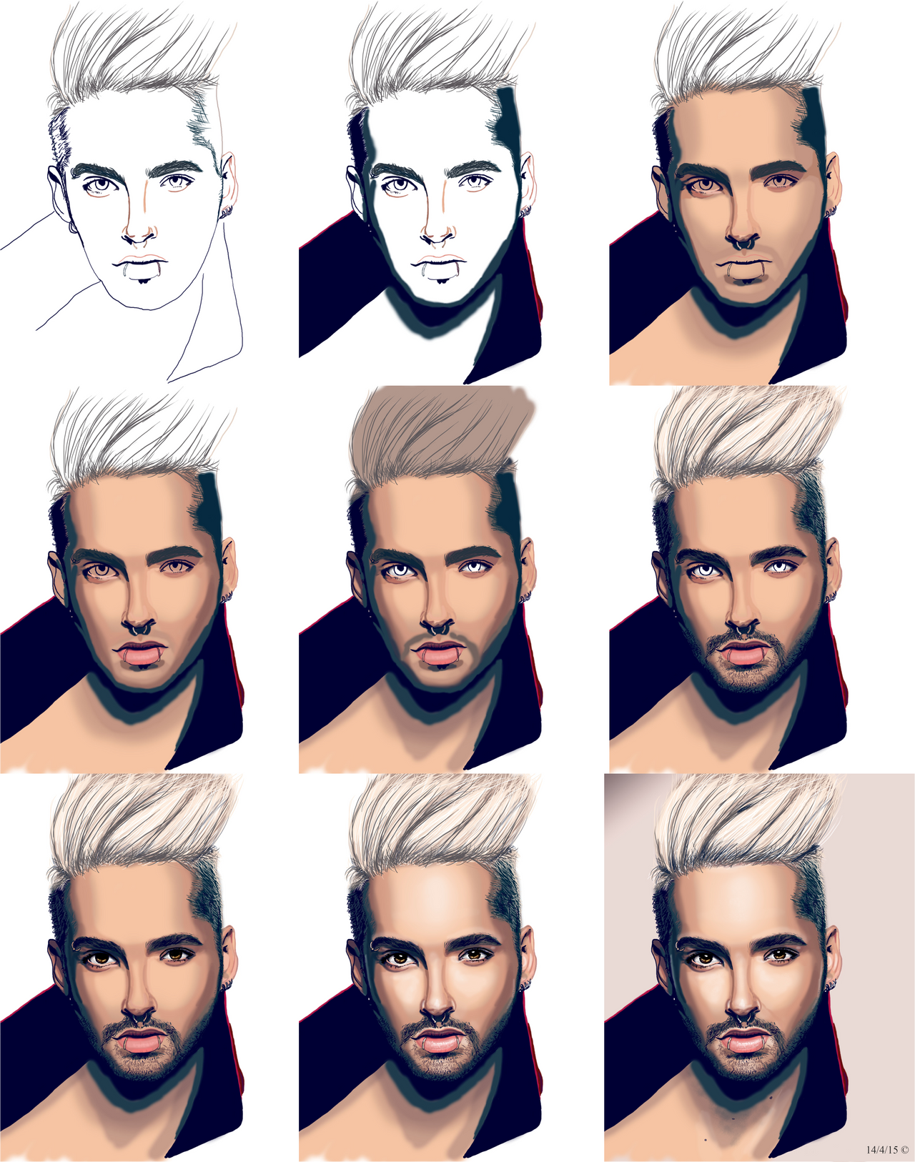 Bill Kaulitz Screenshots by Chrystall-Bawll