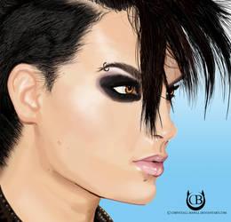 Bill Kaulitz #2 by Chrystall-Bawll