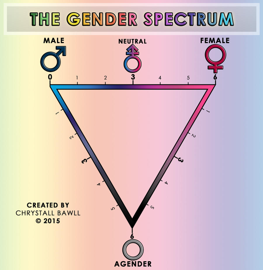 The Gender Spectrum Scale By Chrystall Bawll On Deviantart