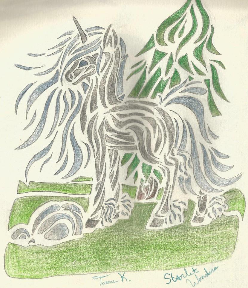 Unicorn thing.. by GleamyDreams