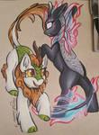Autumn Blaze and Nirik
