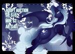 (CLOSED) ADOPT AUCTION