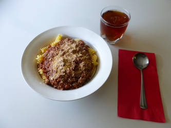 Pasta Bolognese 02