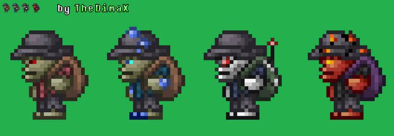 Terraria Skeleton Merchants