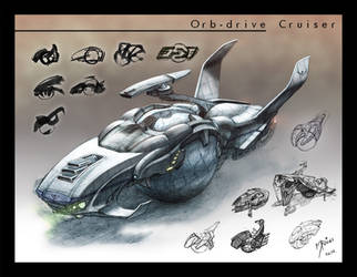 Orb Drive Cruiser by Nicoll