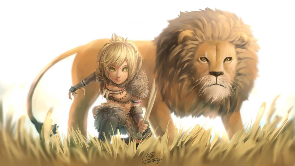 Deviantart Lion Warrior: Lion Warrior By Nhaliz On DeviantArt