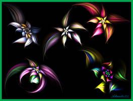 fractal flower mayhem by ashmaster100