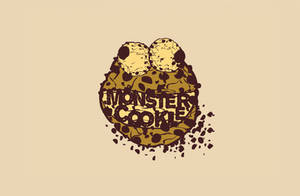 Monster Cookie Wallpaper by mackna64