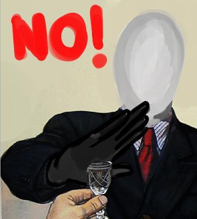 Slenderman say no by SimonTheFox1