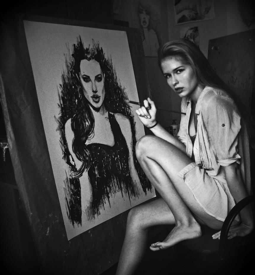 Artist's life by katiebloo
