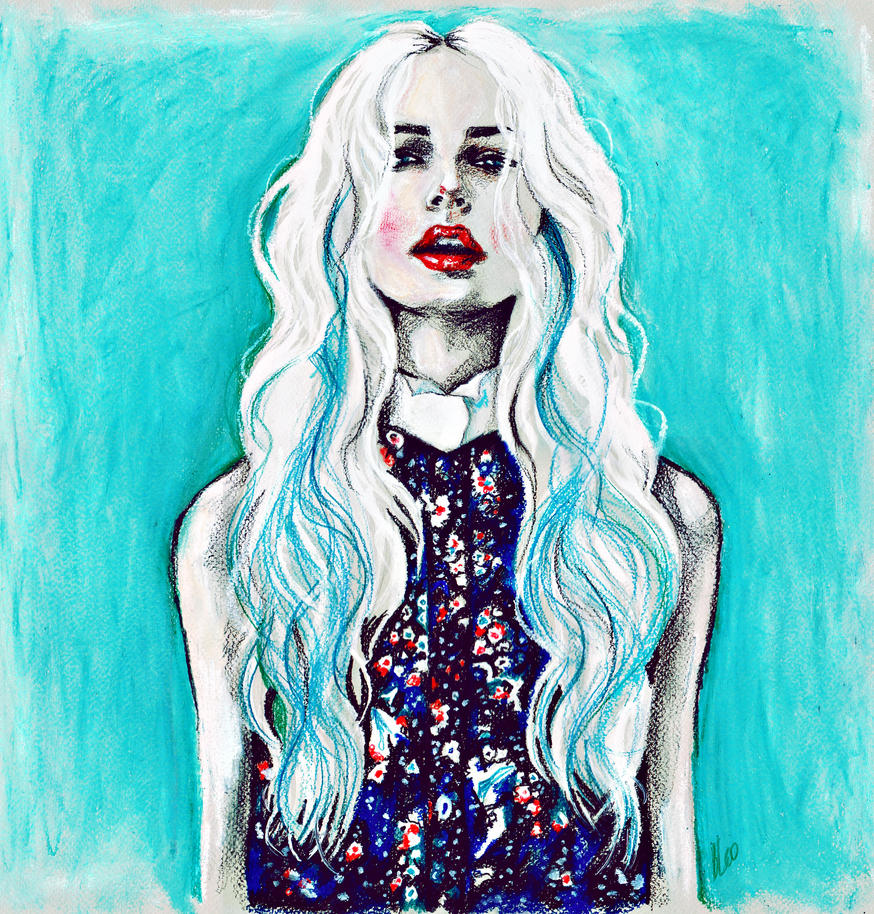 Fleur Bleue by katiebloo