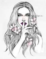 Fleurs by katiebloo