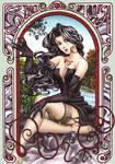 FMA Lust and Art Nouveau