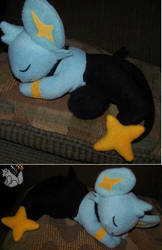Sleeping Shinx plush pokemon by YutakaYumi