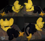 Sleeping Shiny Shinx plush