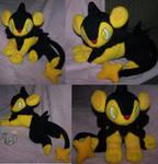 Shiny Luxio plush Pokemon