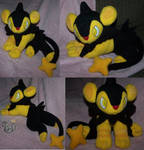 Shiny Luxio plush Pokemon
