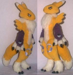 Digimon Renamon plush side2