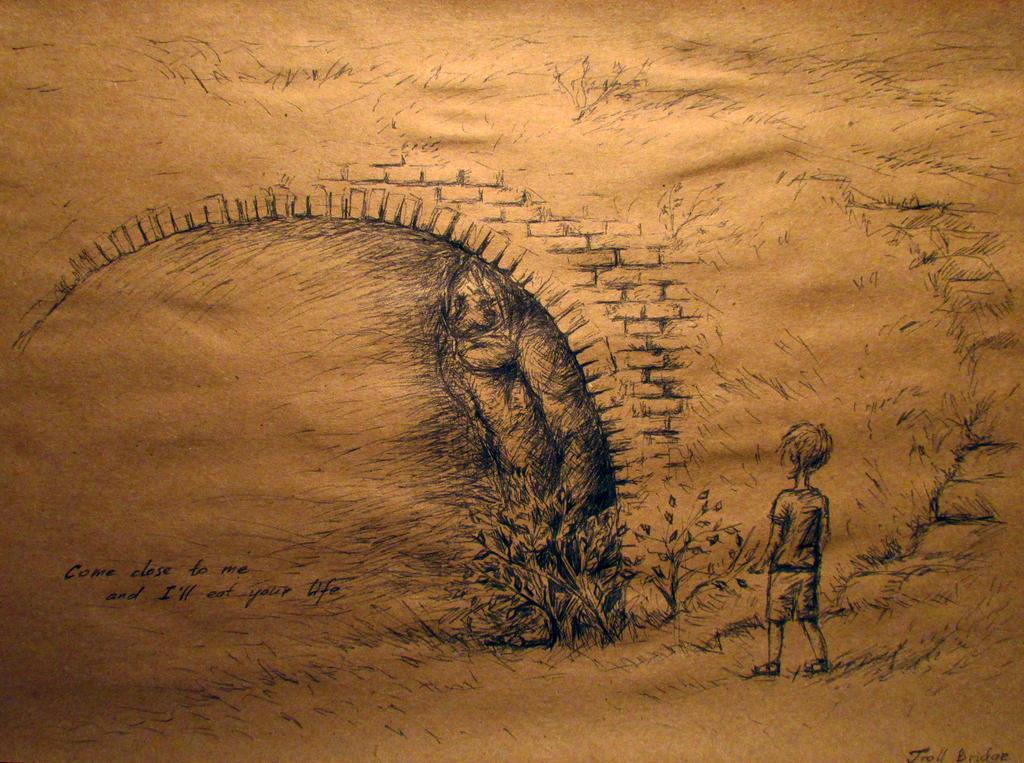 Troll Bridge by Liskaza