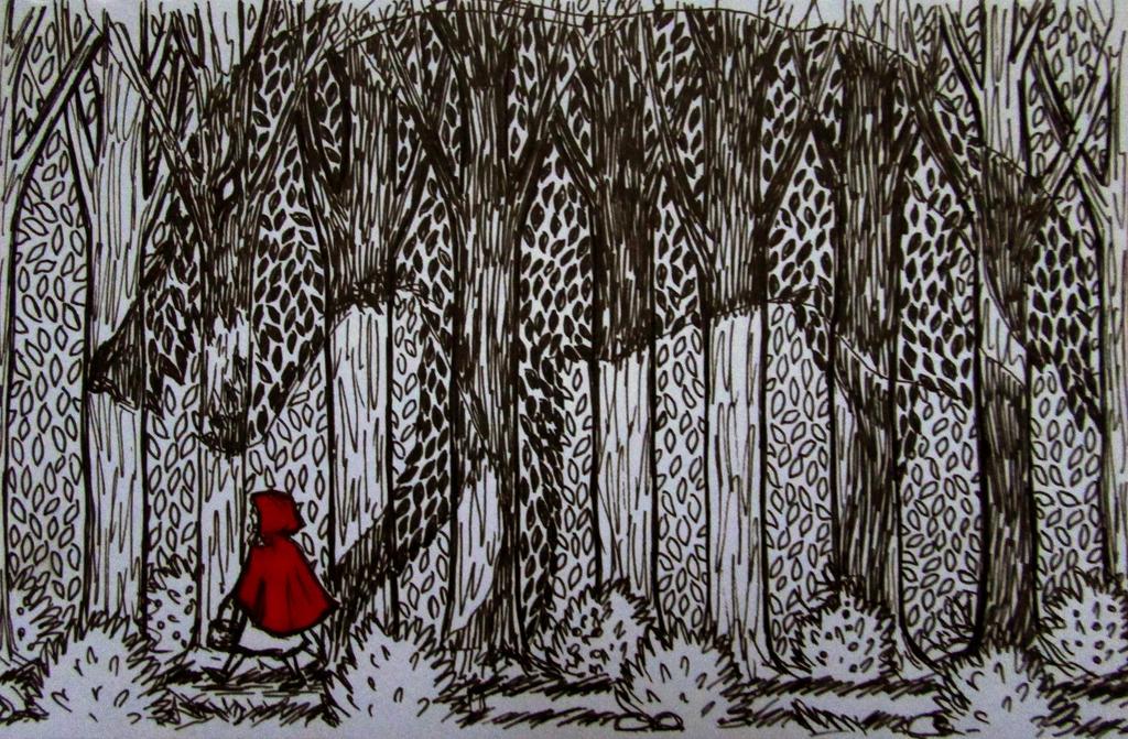 Big Bad Wolf by Liskaza
