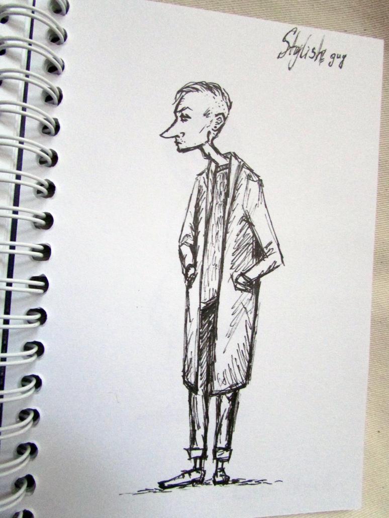 Stylish guy by Liskaza