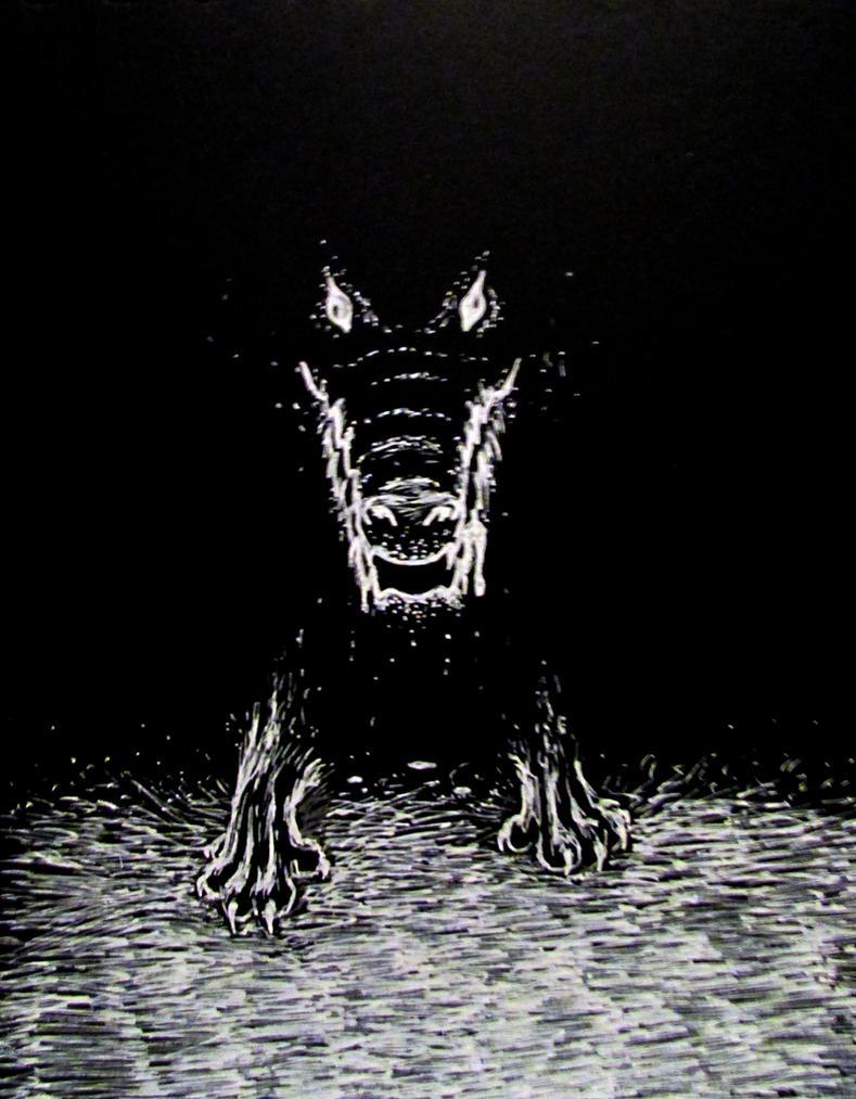 Ammit the Soul-eater by Liskaza