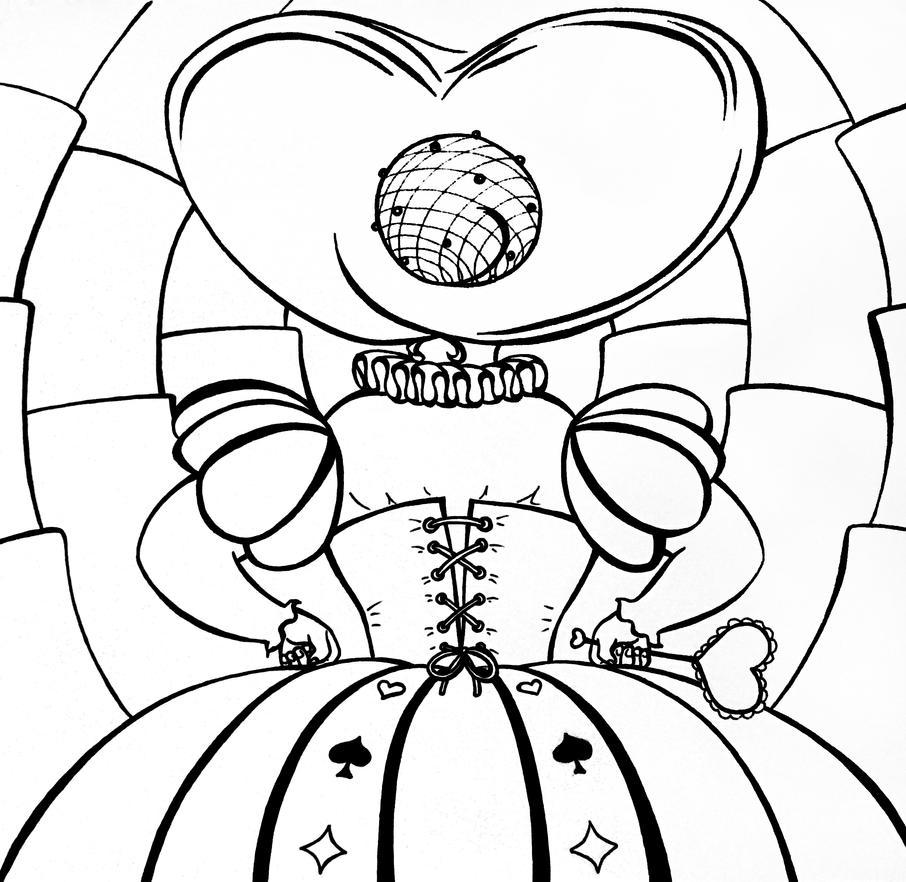 Queen of Hearts by Liskaza