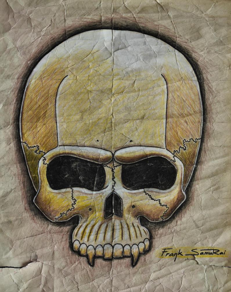 Jawles skull by FrankSamuRai
