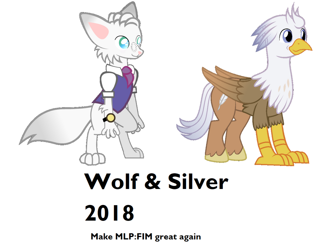 wolf and silver 2018 by ProfFlyingJoeMule