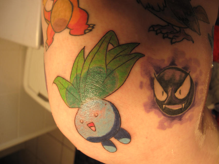 Oddish Tattoo By CandaceIsVampire On DeviantArt