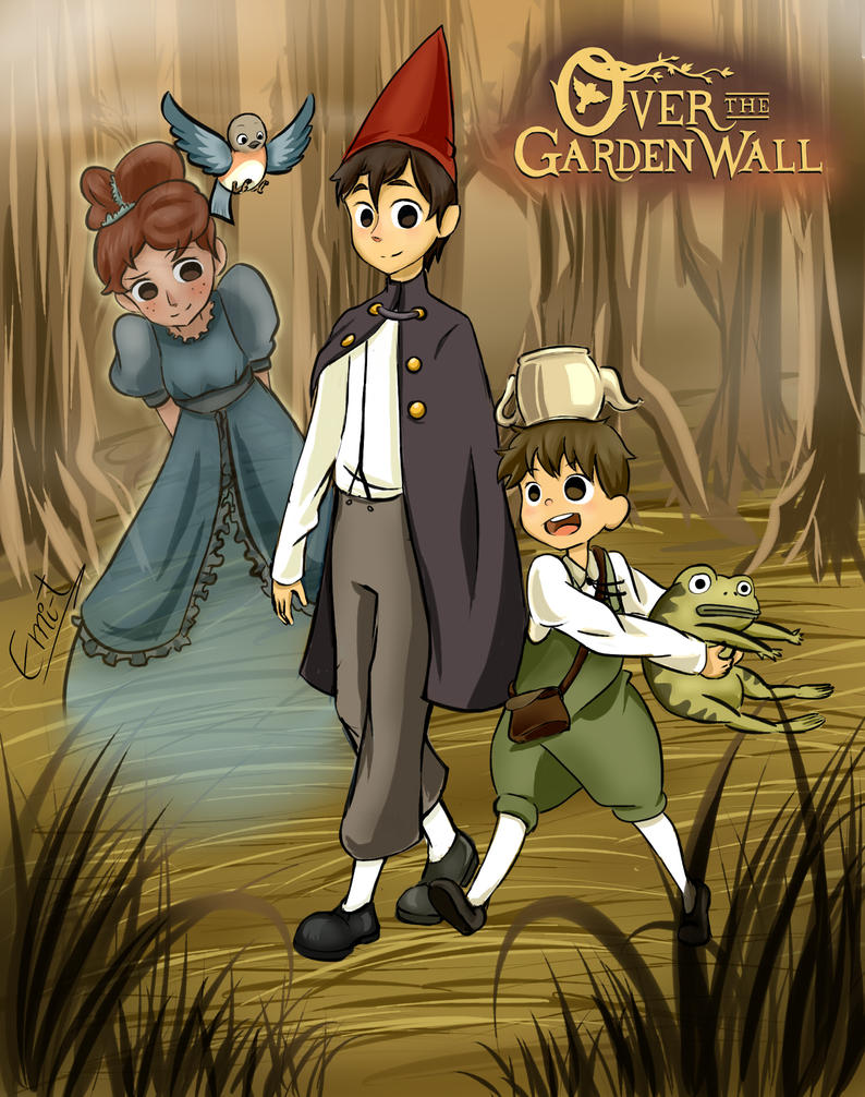 Over the Garden Wall version Anime by amoelanimme on DeviantArt