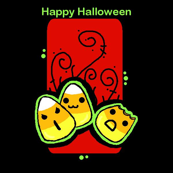 Halloween Corn by xMoshyMCCOY