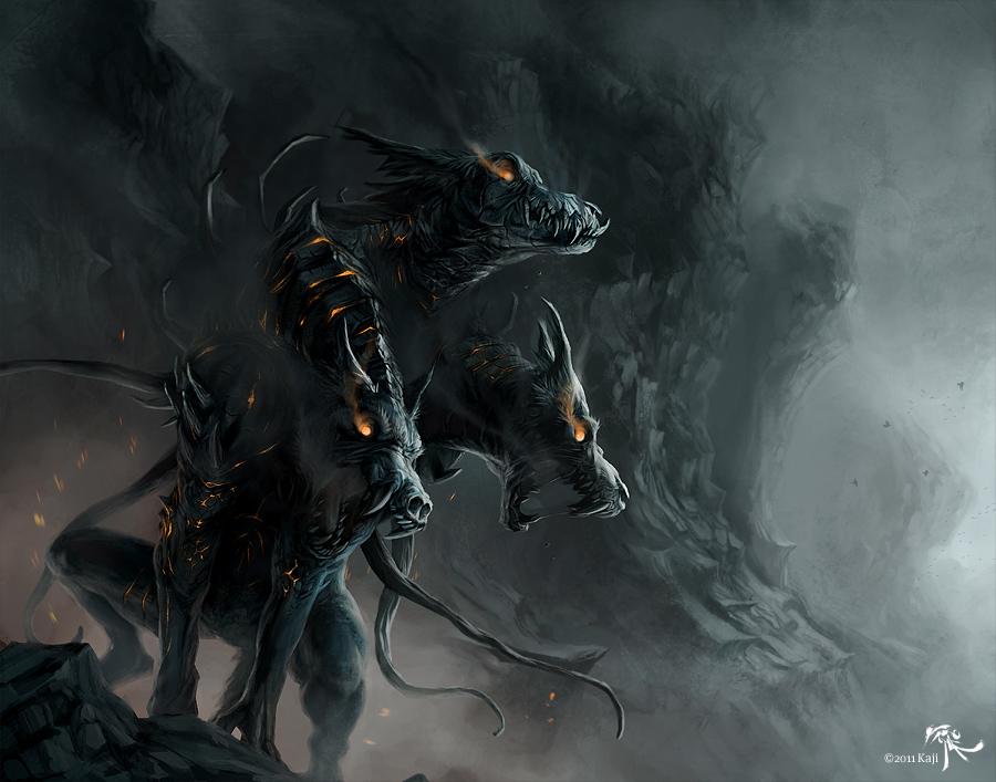 Hellhound by Kajito