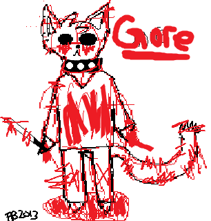 Blood Everywhere by FeralHeartGirl