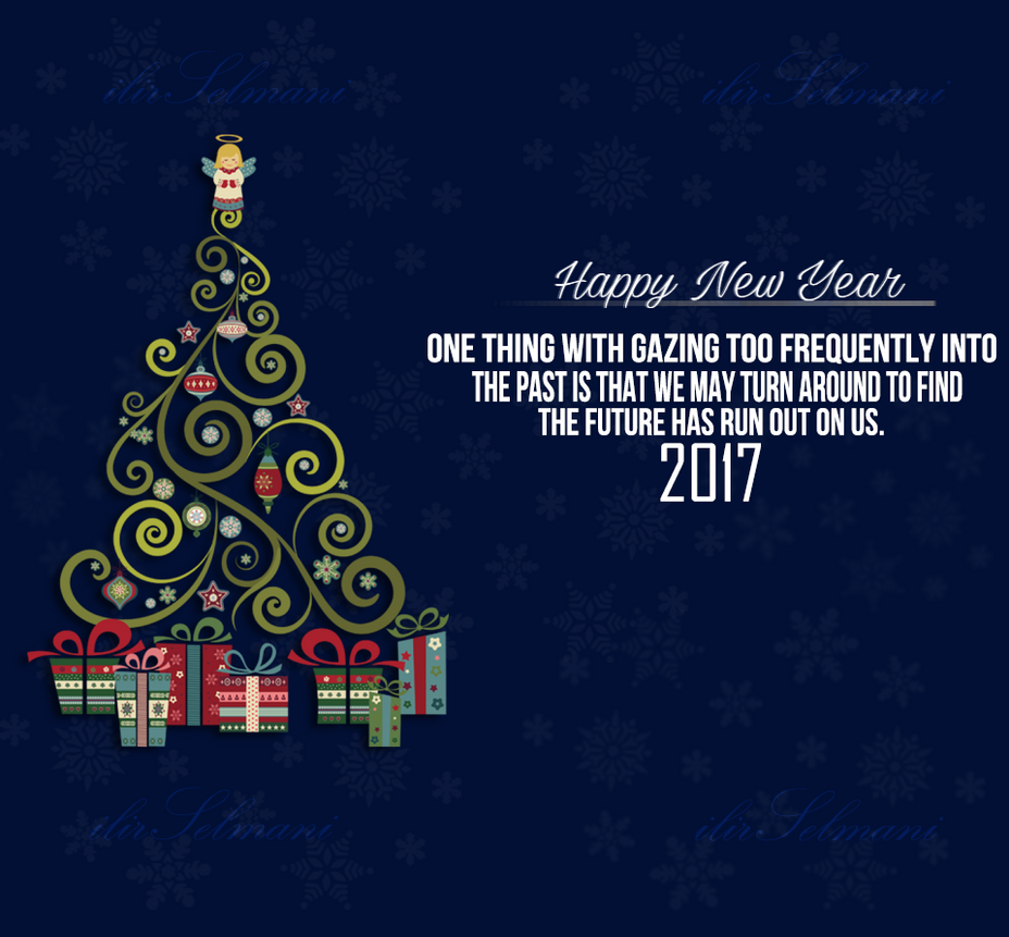 Happy New Year 2017 HD by IlirWilson