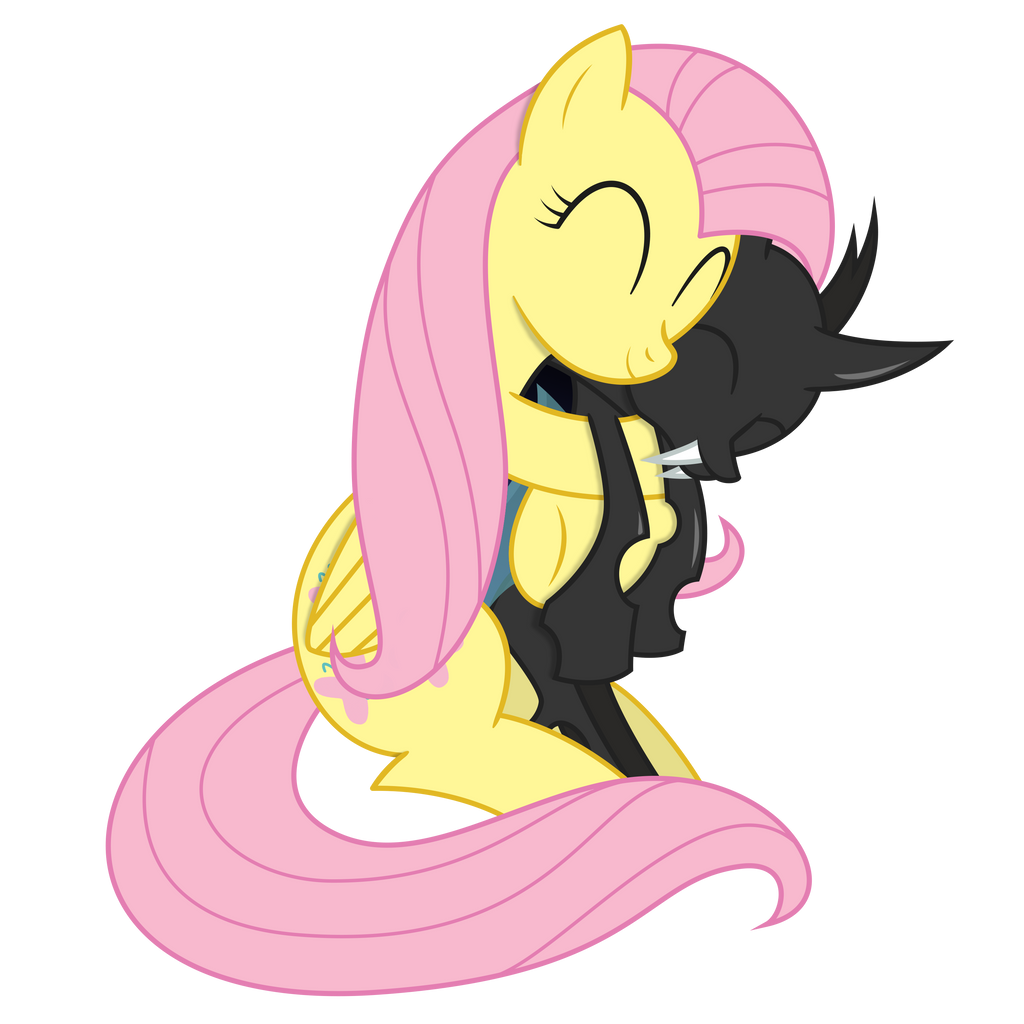 Cuddle-Changeling by XyoticFluttershy Suicide